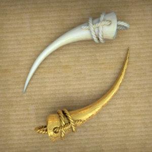 Saving the Survivors - Rhino Horn Pendant